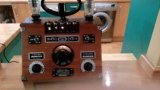 WIRELLES valve radio