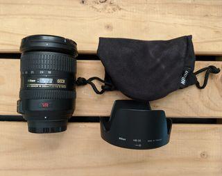 Objetivo Nikon 18-200mm VR, muy poco uso!