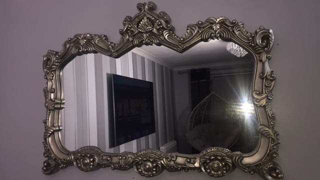 Living room mirror