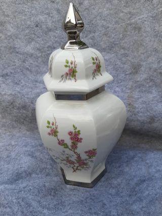 Tibor de porcelana peyma