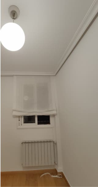 Estor plegable paqueto blanco de 120x175 cm
