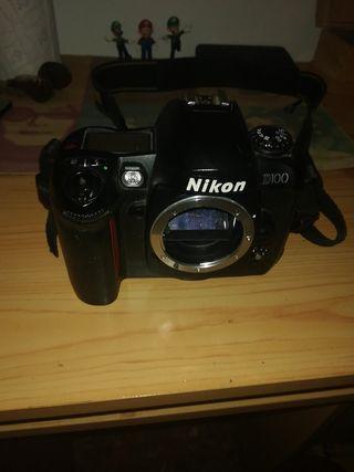 cámara NiKon D100