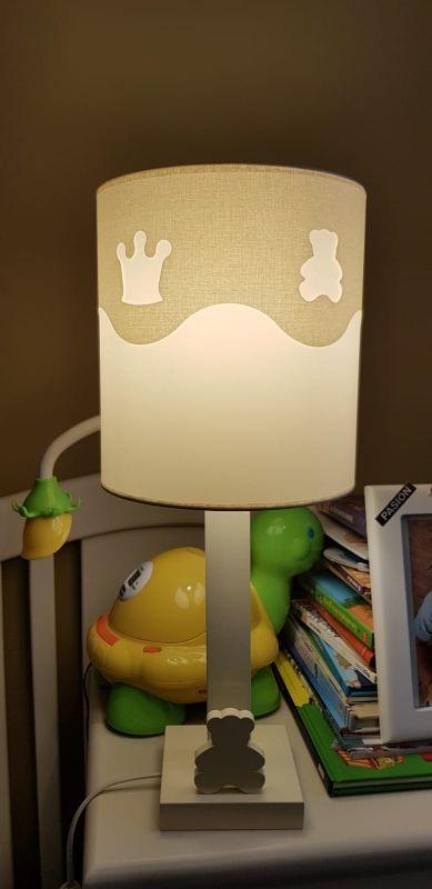 Lámpara infantil de mesita de noche
