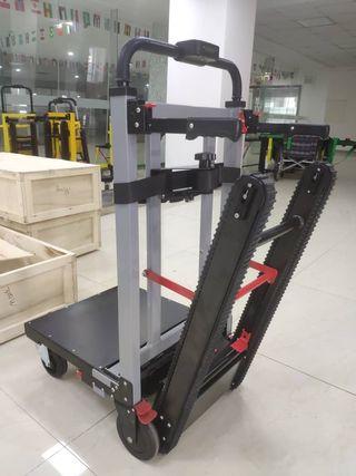 Carretilla sube escalera eléctrica oruga carga 300