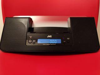 Base de Audio JVC para iPod, iPhone,..