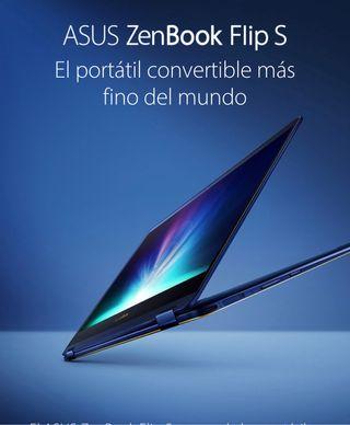 ASUS ZenBook Flip S UX370UA (Táctil)