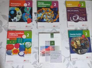 Libros 2° FP Informática de Oficina.