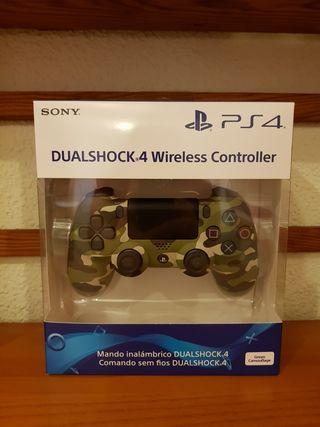 Mando PS4 dualshock 4 camuflaje verde. PRECINTADO
