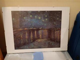 Lámina enmarcada cuadro Van Gogh