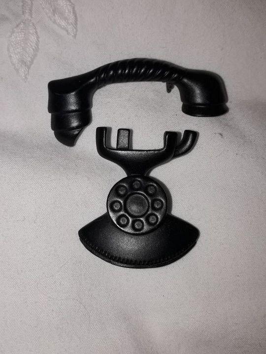 broche TELÉFONO ANTIGUO