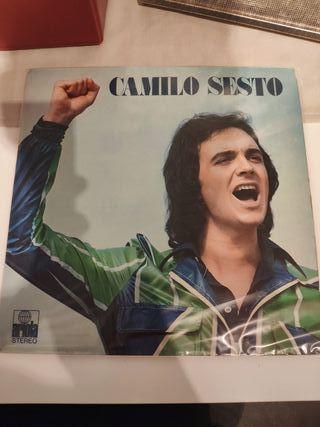 disco vinilo LP Camilo Sesto
