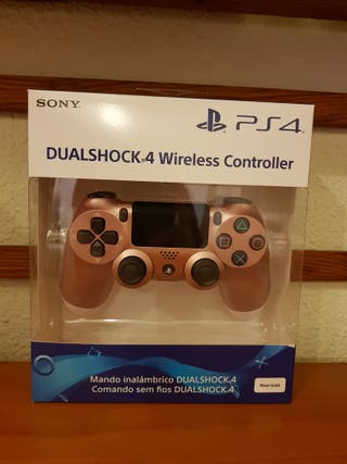 Mando PS4 dualshock 4 rose gold. PRECINTADO