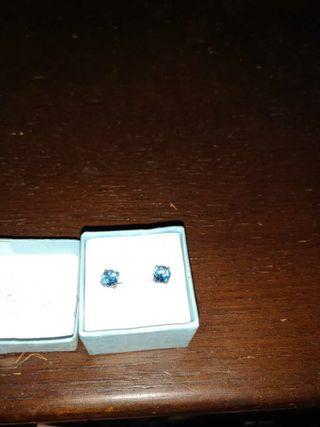 Ladies Turquoise blue Stud Earrings