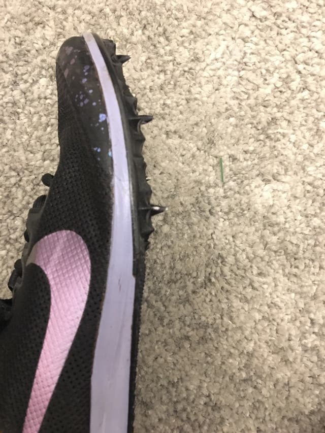 Nike zoom rival D spikes size5