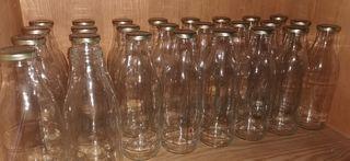 Botellas con cierre rosca