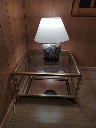 Oportunidad conjunto mesa y lámpara