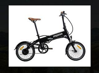 Bicicleta Eléctrica MOMA plegable