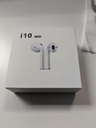 Auriculares i10 TWS nuevos