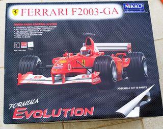 coche Ferrari F2003GA radio control Nikko