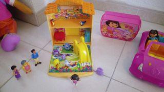 pack muy completo de Dora la exploradora