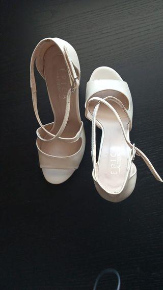 Sandalias de boda talla 38