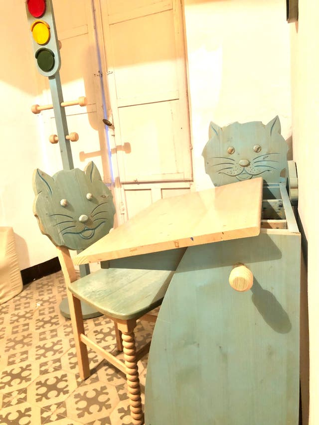 Dormitorio completo Infantil Gato
