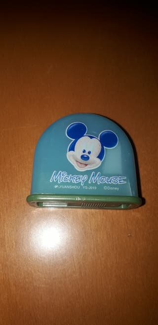 sacapuntas mickey mouse
