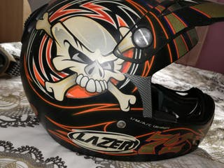 casco moto cross / quad Lacer