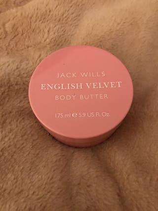 jack willis 175ml body butter