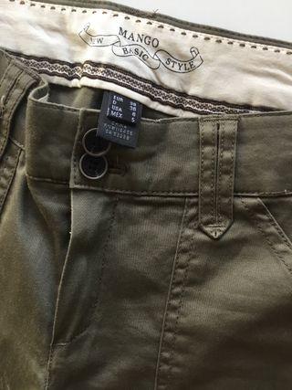 Pantalón nuevo 2x15€