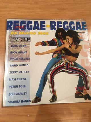 """Vinilo """"Reggae, reggae es mucho más"""""""