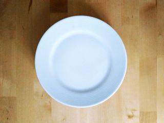 Plato llano porcelana