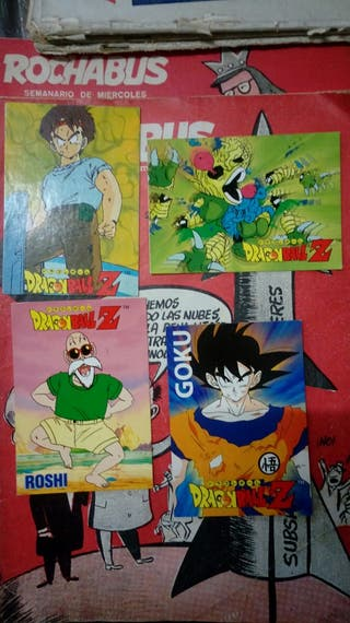 Cartas y Albums Dragon Ball