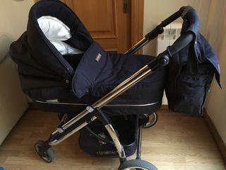 Coche de bebé bebécar IPod en azul marino