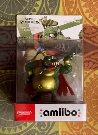 Amiibo KING K. ROOL. Nintendo Switch / WiiU / 3DS.