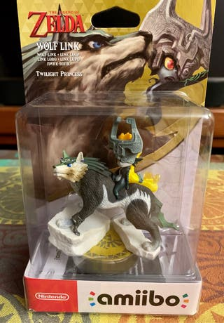 Amiibo LINK LOBO. Nintendo Switch. Legend of Zelda