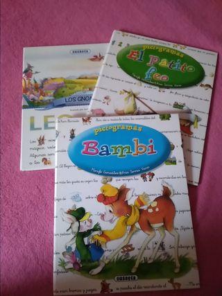 libros infantiles pictogramas