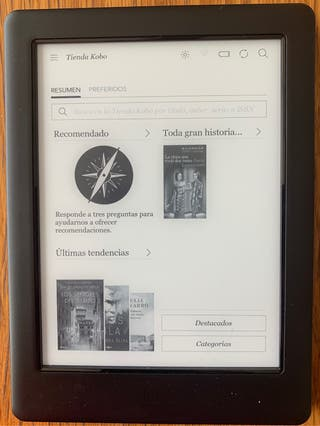 ebook Kobo Glo Hd
