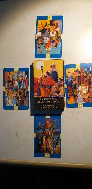 Tarot - Oraculo La sentencia de los Evangelios
