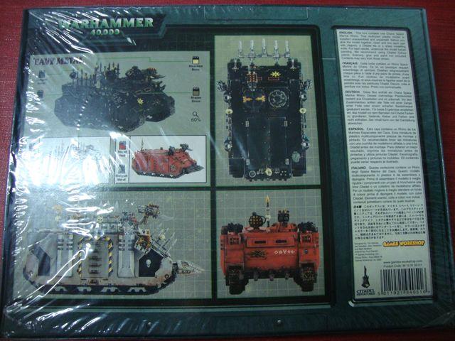 Warhammer 40000 rhino caos nuevo