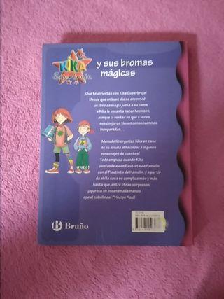 libro infantil KIKA SUPERBRUJA