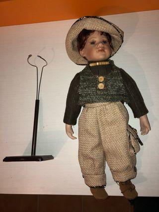 Muñeco porcelana años 60