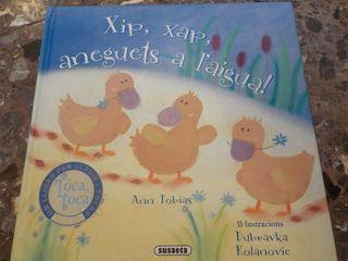 Libro infantil de Toca Toca