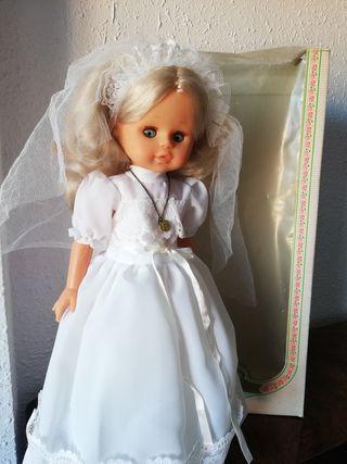 muñeca de comunión de los años 90