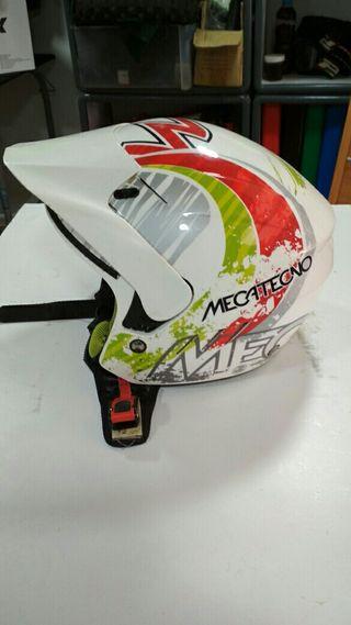 Casco moto trial motocross...niño