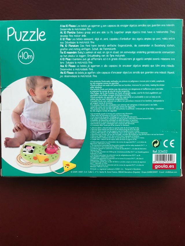 Puzzle de madera para bebés