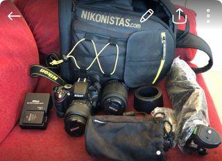Cámara de foto Nikon 5100