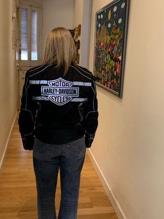 Vendo cazadora Harley Davidson talla S