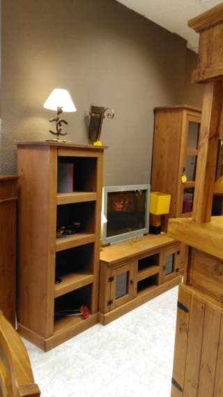 Muebles salon rústicos