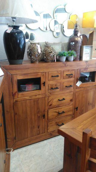 Aparador madera rustico